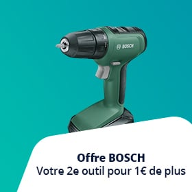 Achetez un produit parmi la sélection et recevez un outil pour 1 euro de plus
