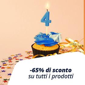 FINO AL -65%