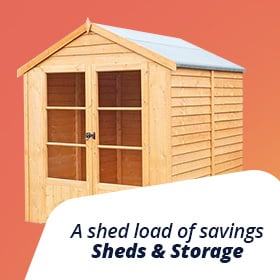 A shed load of savings