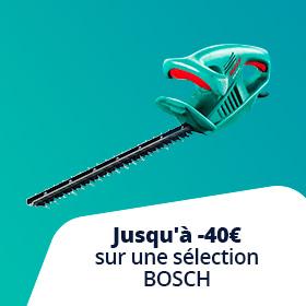 Profitez du printemps avec Bosch