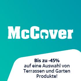 Bis zu -45% auf McCover Produkte