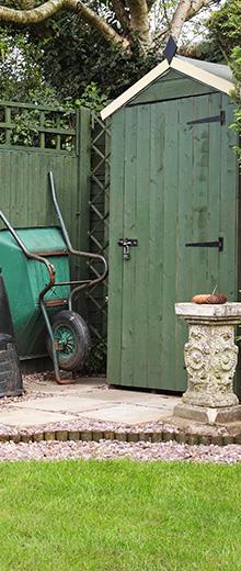 Cómo elegir un arcón o un armario de jardín