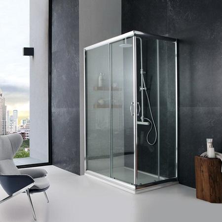 Cómo distribuir  cuartos de baño de 3, 4, 5 o 6 metros²