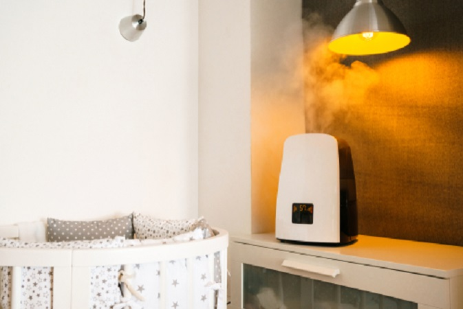 How and why to use a humidifier in a nursery