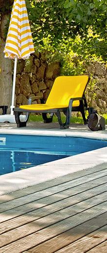 Come rimediare all'acqua verde della piscina