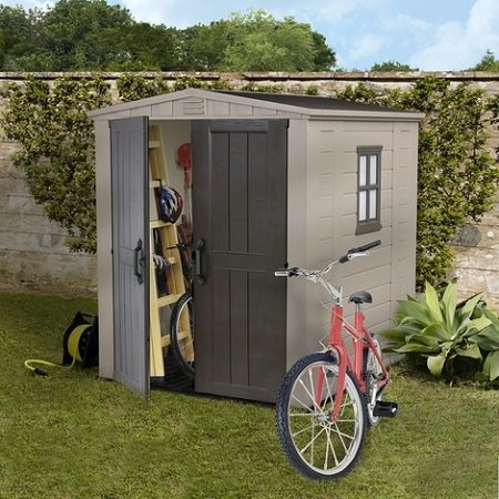 How to install a garden shed