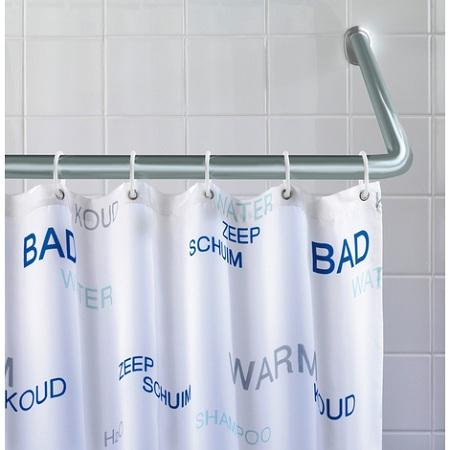 Comment choisir  une barre et des anneaux pour rideau de douche