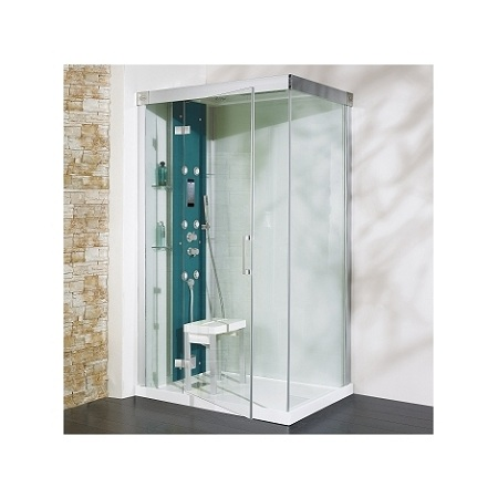 Italian shower or shower cubicle?
