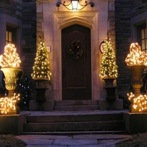 How to choose your exterior Christmas decorations?