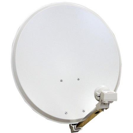 une antenne parabolique