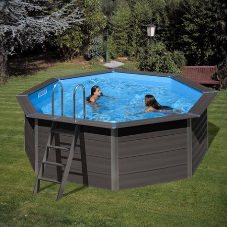 an above-ground pool?