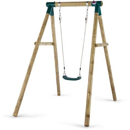 How to install a swing set