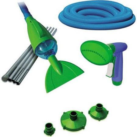 Cómo elegir los productos para limpiar una piscina