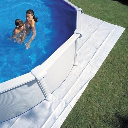 How to install a base for an above ground pool