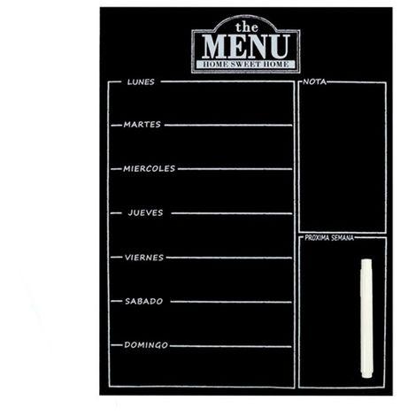 Imán decoración menú con rotulador 30 x 40 cm