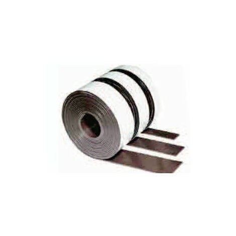 IMAN FLEXOFER ROLLO PVC 25X1.2 MM BLANCO FLEXIBLE
