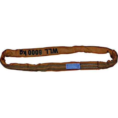 Imbracatura ad anello Carico di lavoro (WLL)=6 t 4 m Petex 47206406 Marrone