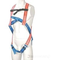 Imbracatura Di Sicurezza Anticaduta - Cintura Sicurezza Completa Cantiere Silv