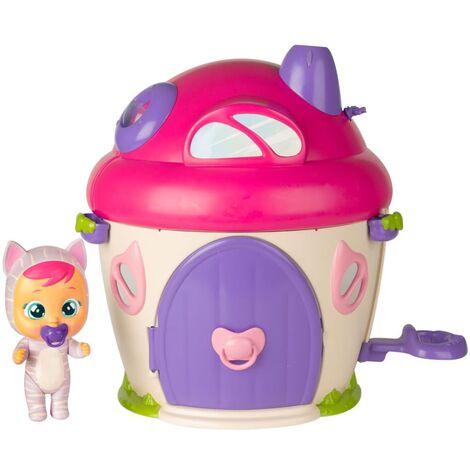 iMC Toys Set de lágrimas mágicas de bebés llorosos Katie's Superhouse - Multicolor