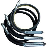 Imer - Aiguille vibrante pneumatique diamètre 40mm Longueur 2m - APN 40