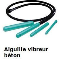 Imer - Aiguille vibreur béton Ø25mm, flexible 1m - AVPI25