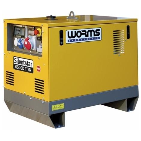 Imer - Groupe électrogène 5,2kW Tri/ 3,6kW Mono moteur YANMAR L100AE version standard - SILENTSTAR 6500D T YN