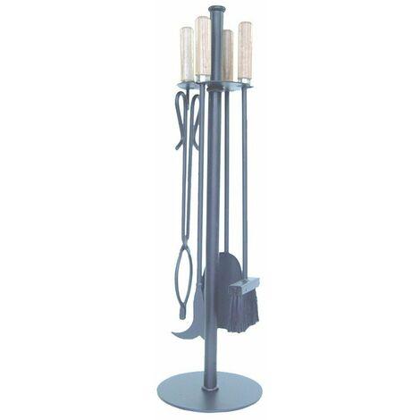 IMEX-12012-F Juego chimenea redondo 4 piezas [imex-12012-F]