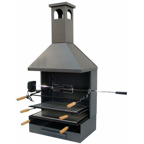 IMEX-71557 Cajon barbacoa chimenea con kit pollo [imex-71557]