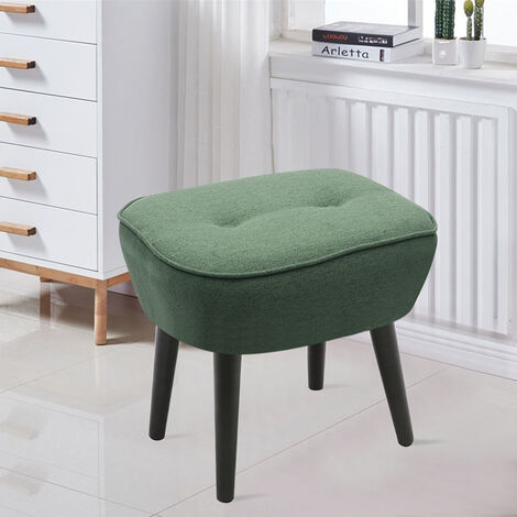 Imitation Cashmere Dressing Footstool Small Stool