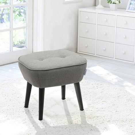 Imitation Cashmere Dressing Footstool Small Stool