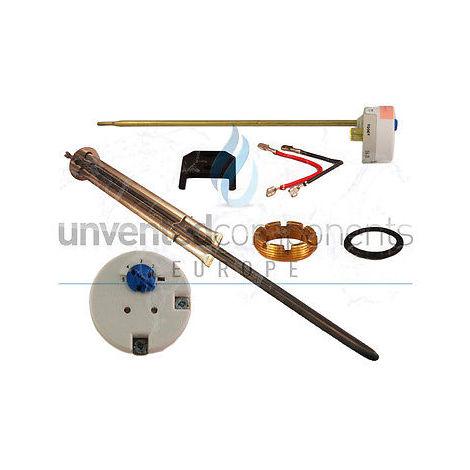 Immersion Heater upper With TSE/TSR - Alternative to: Heatrae sadia Megaflo/Megaflow 95606964