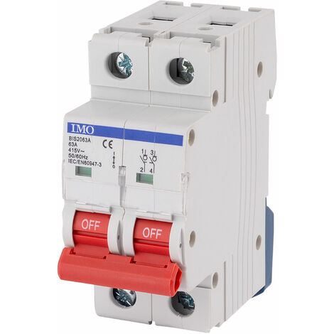 """main image of """"IMO BIS2063A 63Amps 2Pole Isolating Switch"""""""