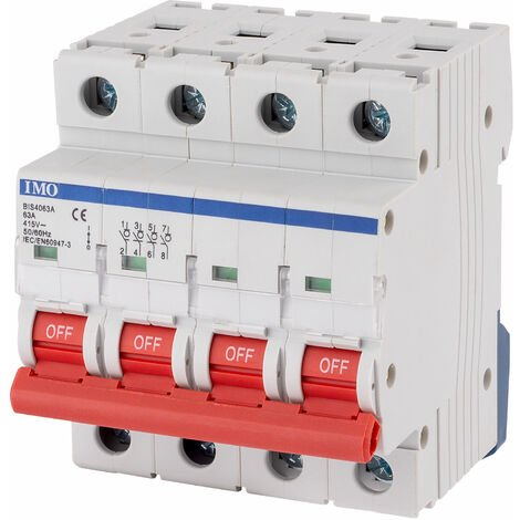 """main image of """"IMO BIS4063A 63Amps 4Pole Isolating Switch"""""""