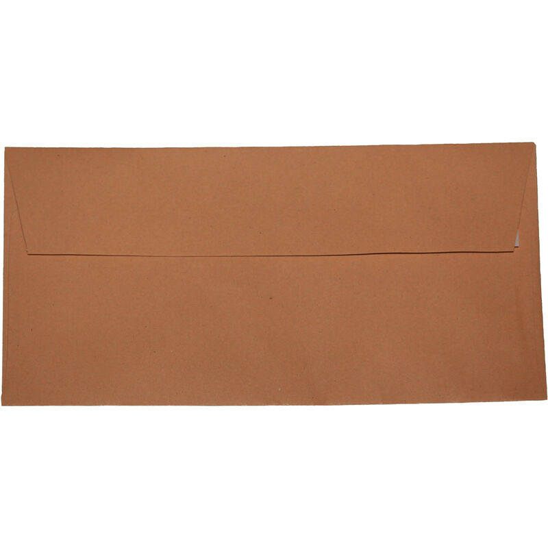 Image of Impact DL Peel And Seal Envelopes (Pack of 50) (One Size) (Manilla)