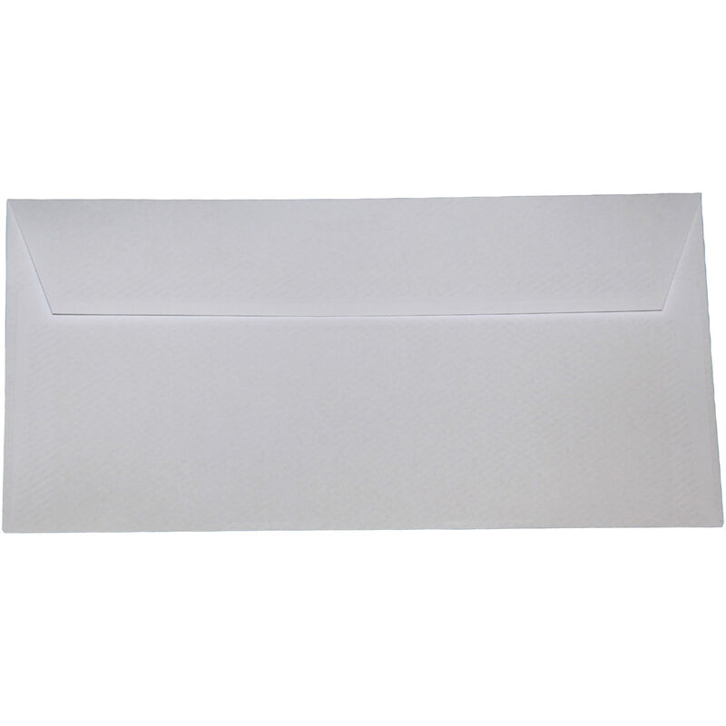 Image of DL Peel And Seal Envelopes (Pack of 50) (One Size) (Window White) - Impact