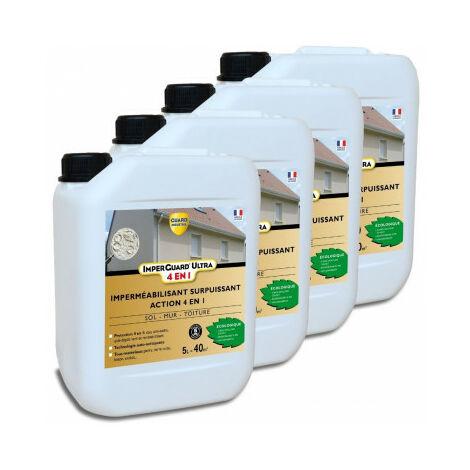 Imperguard ULTRA 4 en 1 - 20L - Protégez jusqu'à 160m² - 4x5L