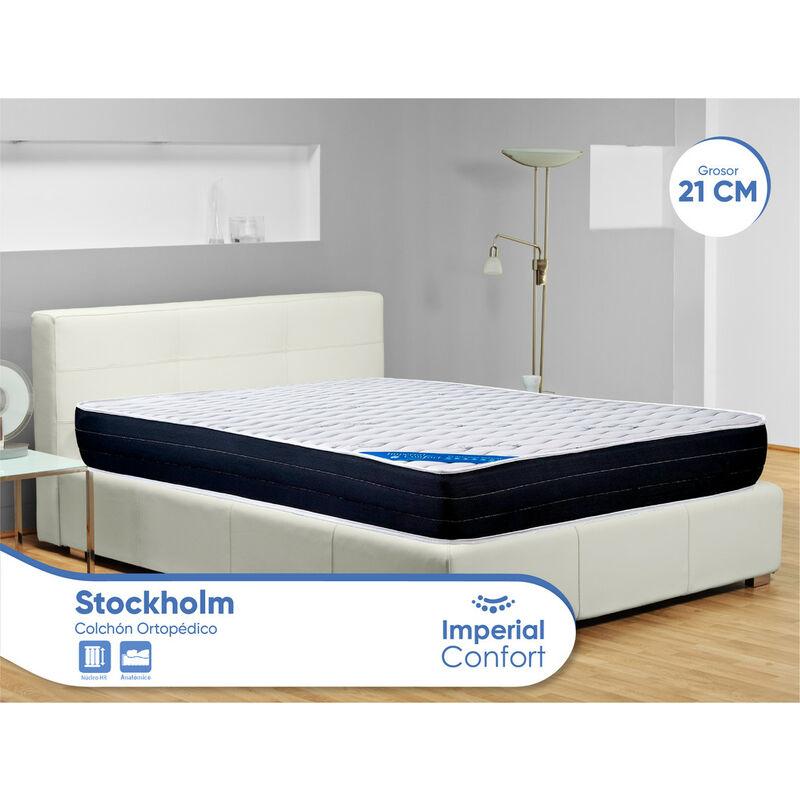 Stockholm - Colchón viscoelástico Ortopédico - 90x200x22 cm - Imperial Confort