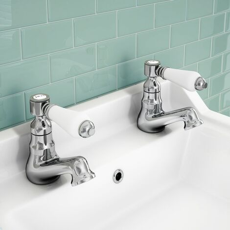 Imperior HOT & COLD TWIN BASIN TAPS