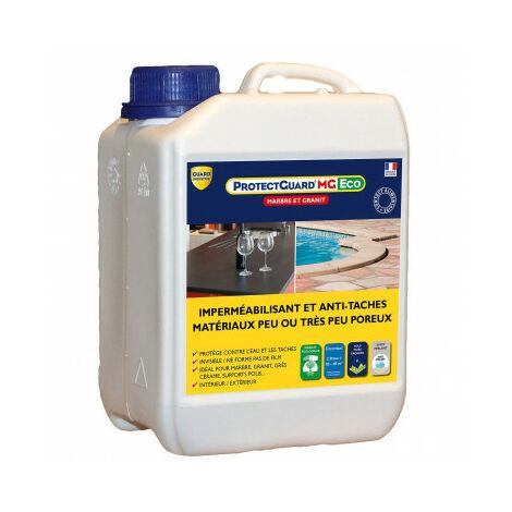Imperméabilisant anti-tache marbre granite- ProtectGuard MG Eco 2L- traite 40m²