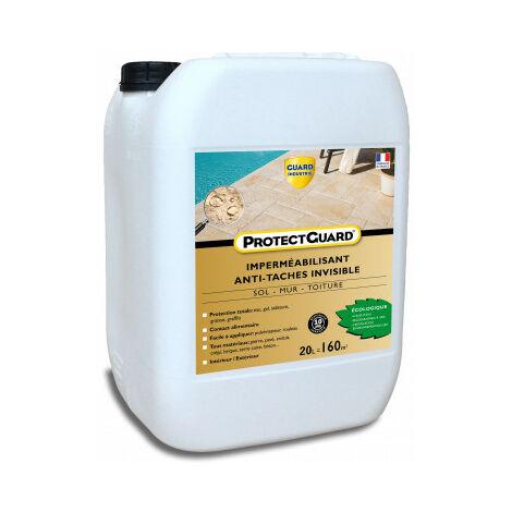 Imperméabilisant anti tache Protectguard 20L - protégez jusqu'à 120m² -Offre spécial travaux