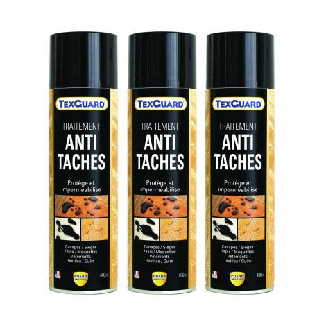 Imperméabilisant antitache tissu et cuir - TEXGUARD - 3 Aérosols