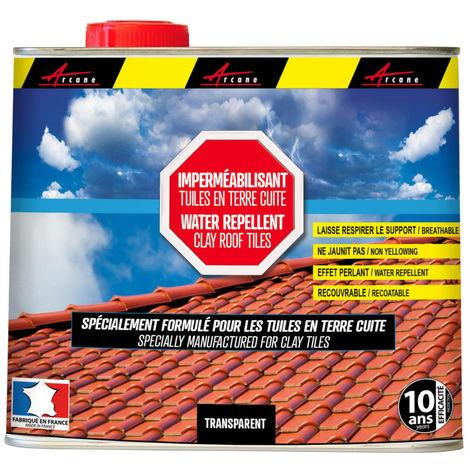 Imperméabilisant, hydrofuge Toiture - Tuiles en terre cuite - IMPERTOITURE TERRE CUITE