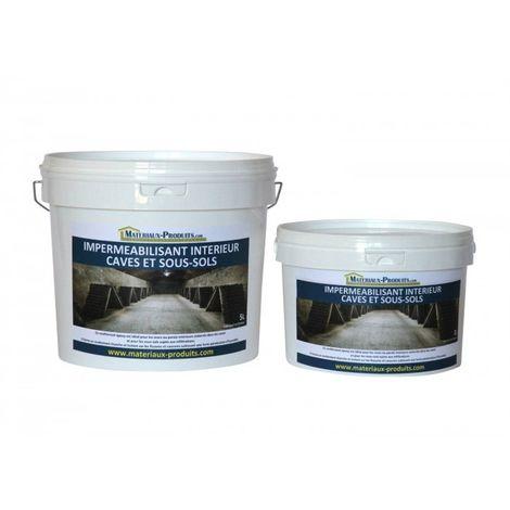 Impermeabilisant intérieur caves et sous-sols - 1 Kg Blanc
