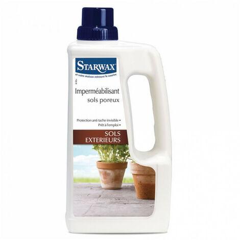 Imperméabilisant pour sols poreux 1L Starwax