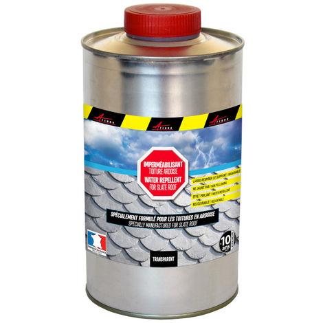Imperméabilisant pour toiture en ardoise hydrofuge incolore - IMPER ARDOISE