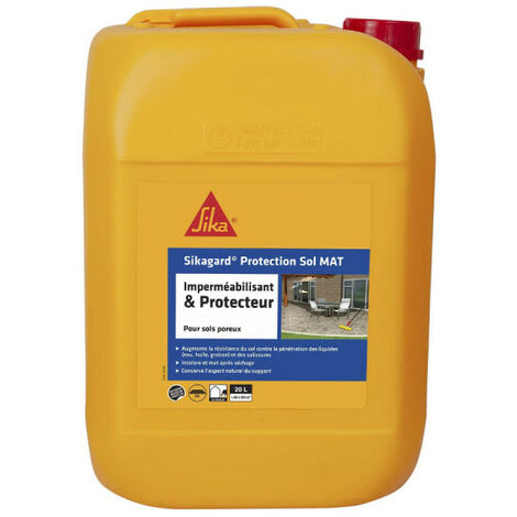 Imperméabilisant SIKA Sikagard Protection Sol MAT - 20L