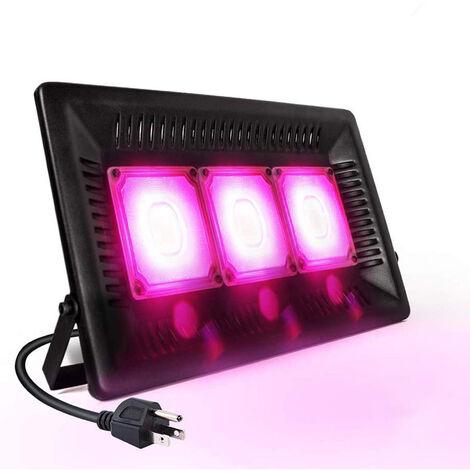 Impermeable LED crece la luz, al aire libre crece la luz, 450W Full Spectrum luz plantas de interior, invernadero, plantas de toldo, para la planta de semillero, las flores, sin ruidos (enchufe de la UE)