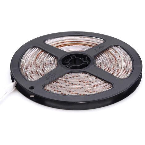 Imperméable À L'Eau 5V 5M Led Lumières De Bande Usb Tv Rétro-Éclairage Pc Retour Humeur Éclairage Décor