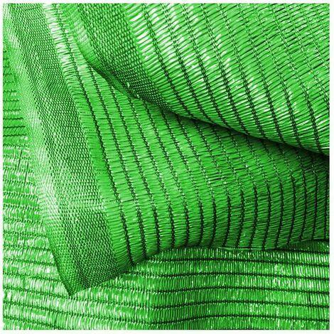 Importación MALLA SOMBRA VERDE  90% SOMBRA. Rollos de 50 m