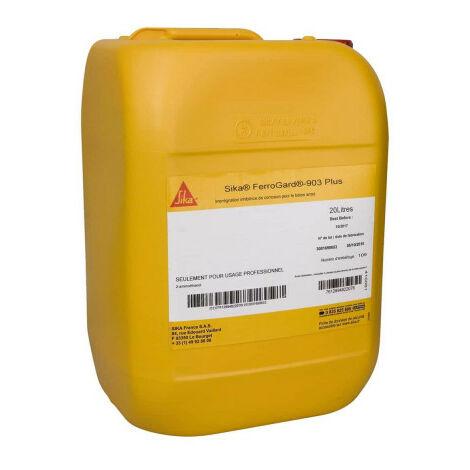 Impregnación del inhibidor SIKA FerroGard -903 Plus - 25kg